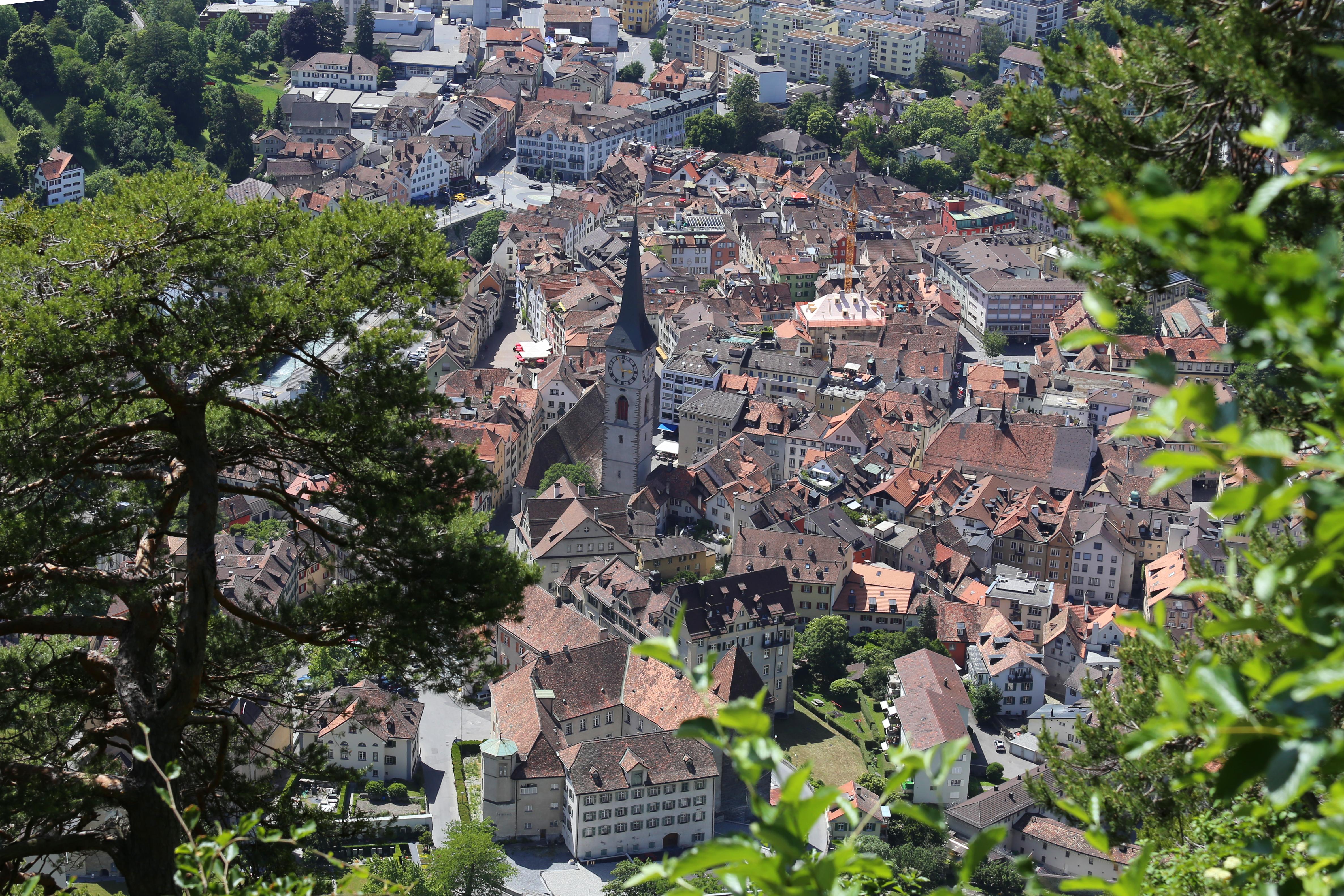 Altstadt Chur Vogelperspektive