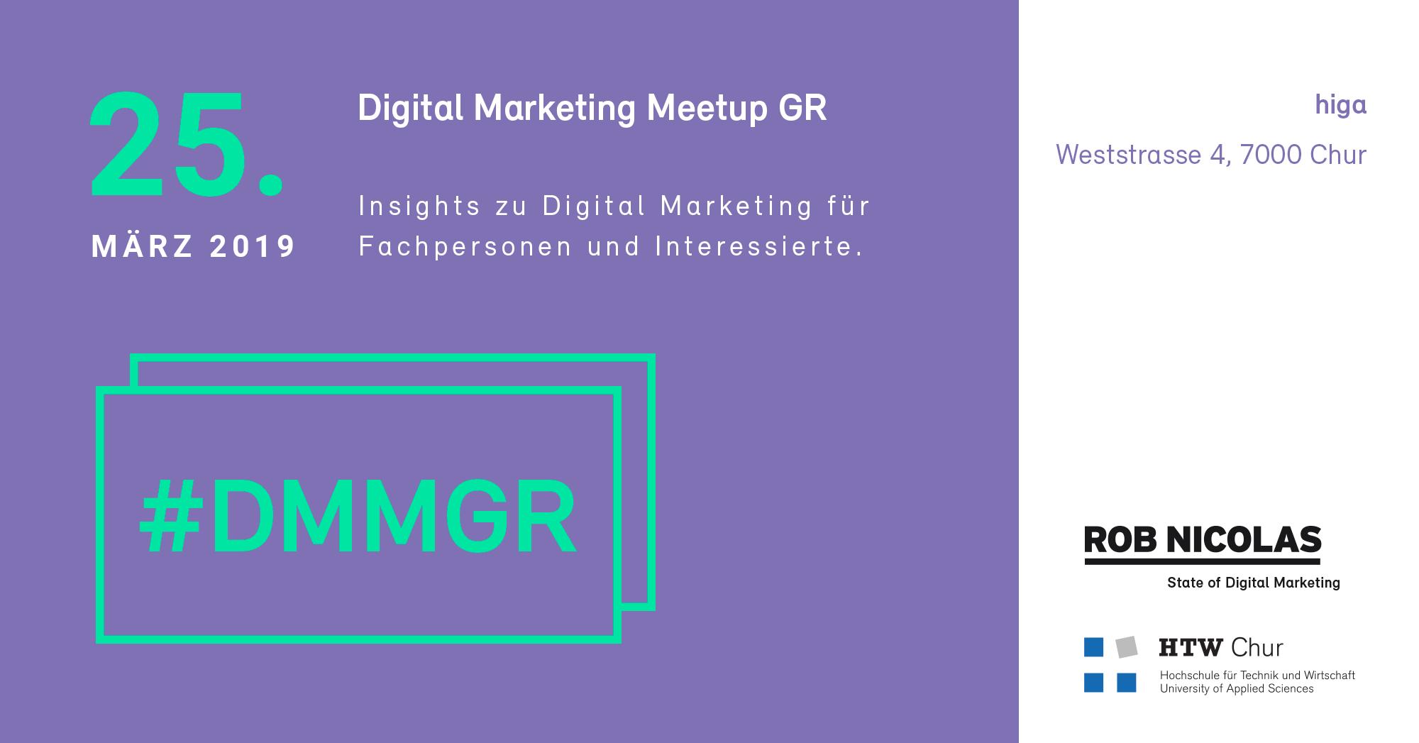 Digital Marketing Meetup Graubünden