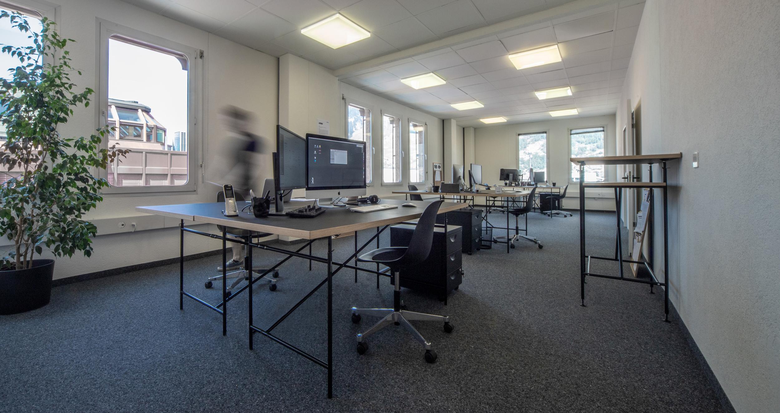 Das Büro von ROB NICOLAS