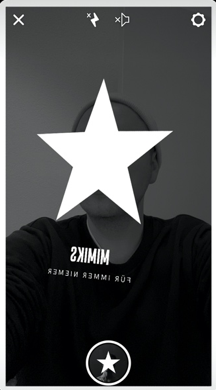 Instagram Story Filter passend zum Mimiks Album