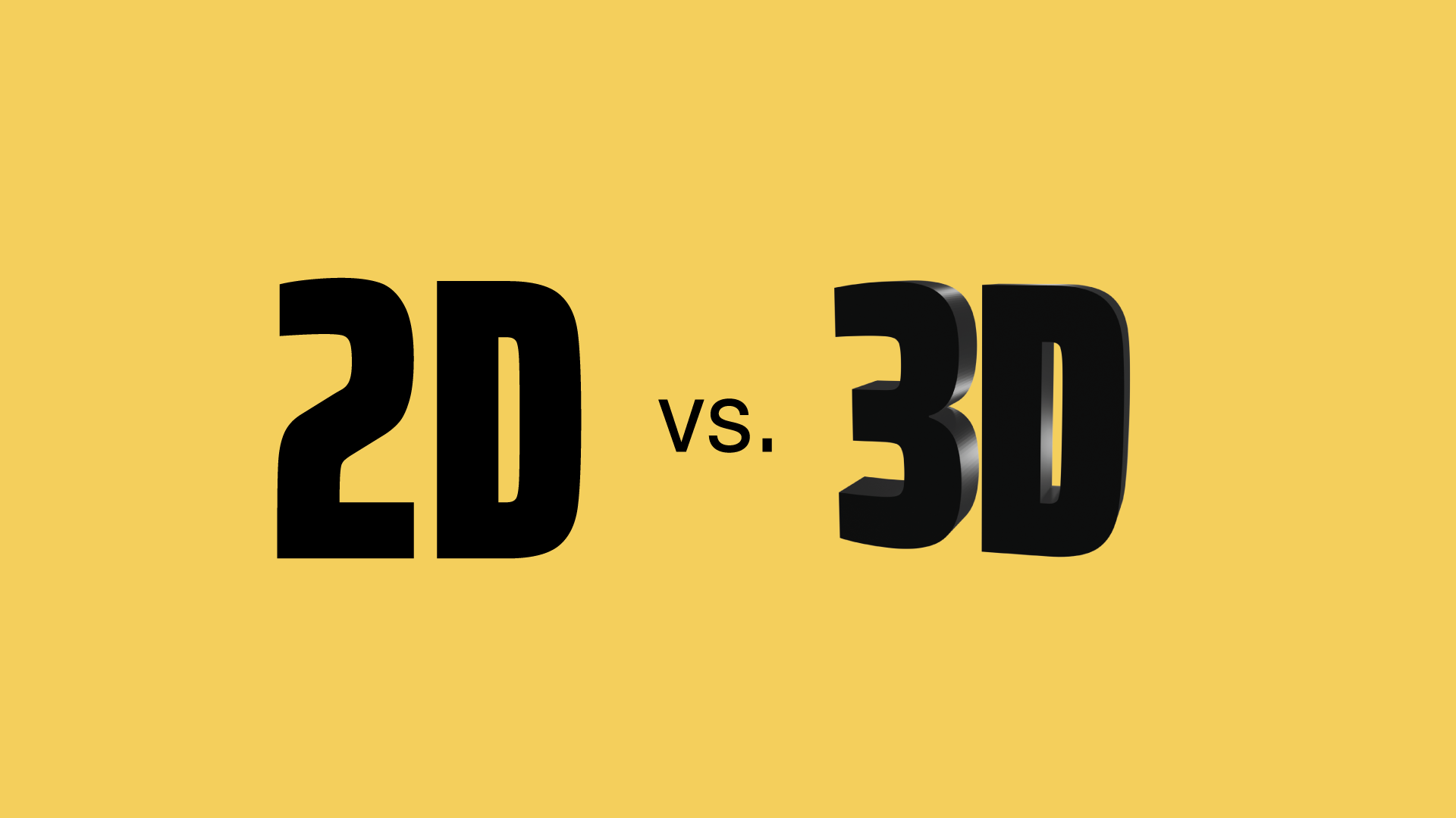 3D vs. 2D Animationen, die Unterschiede und Anwendungen