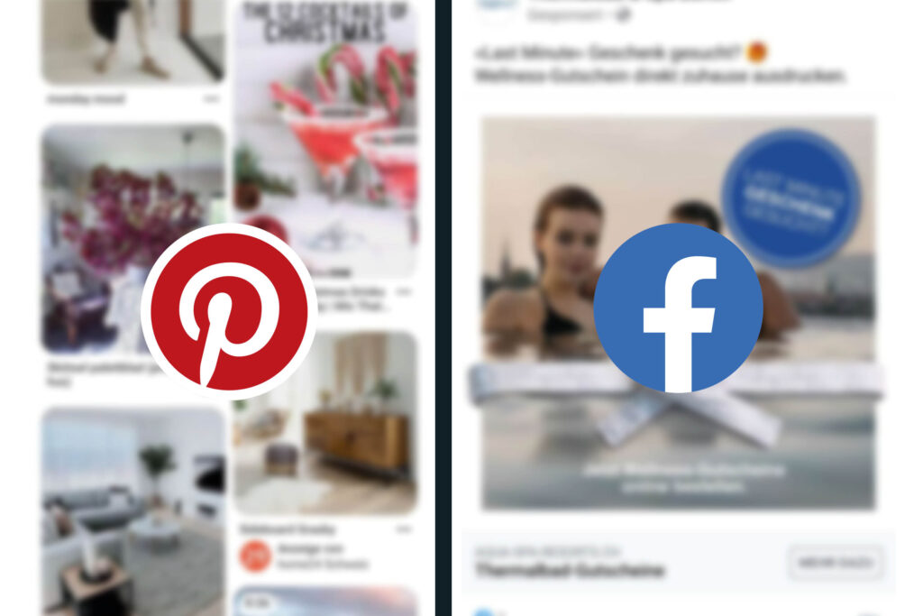 Pinterest Werbung vs. Facebook Werbung
