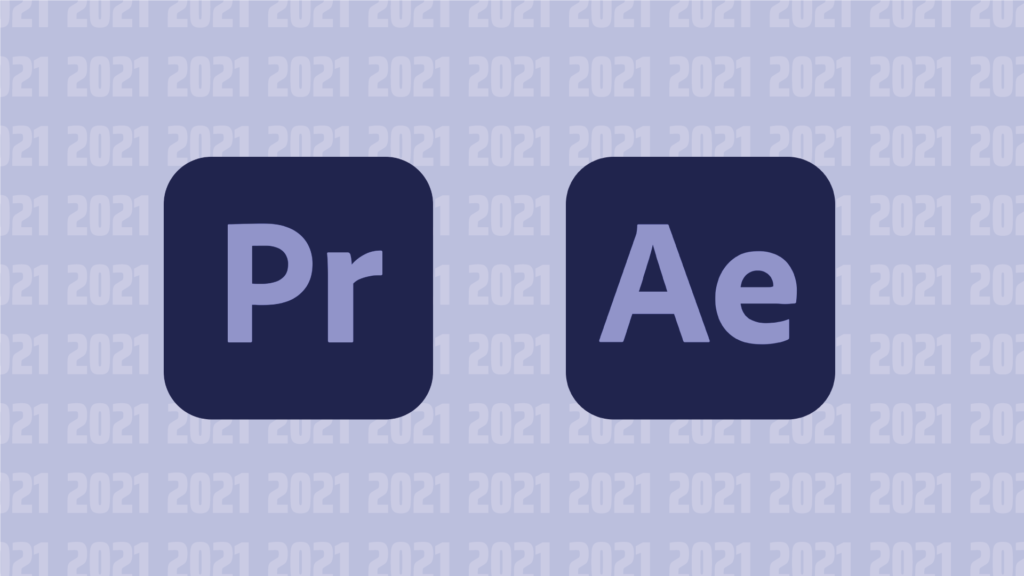 Blogtitelbild Adobe After Effects und Premier Pro 2021