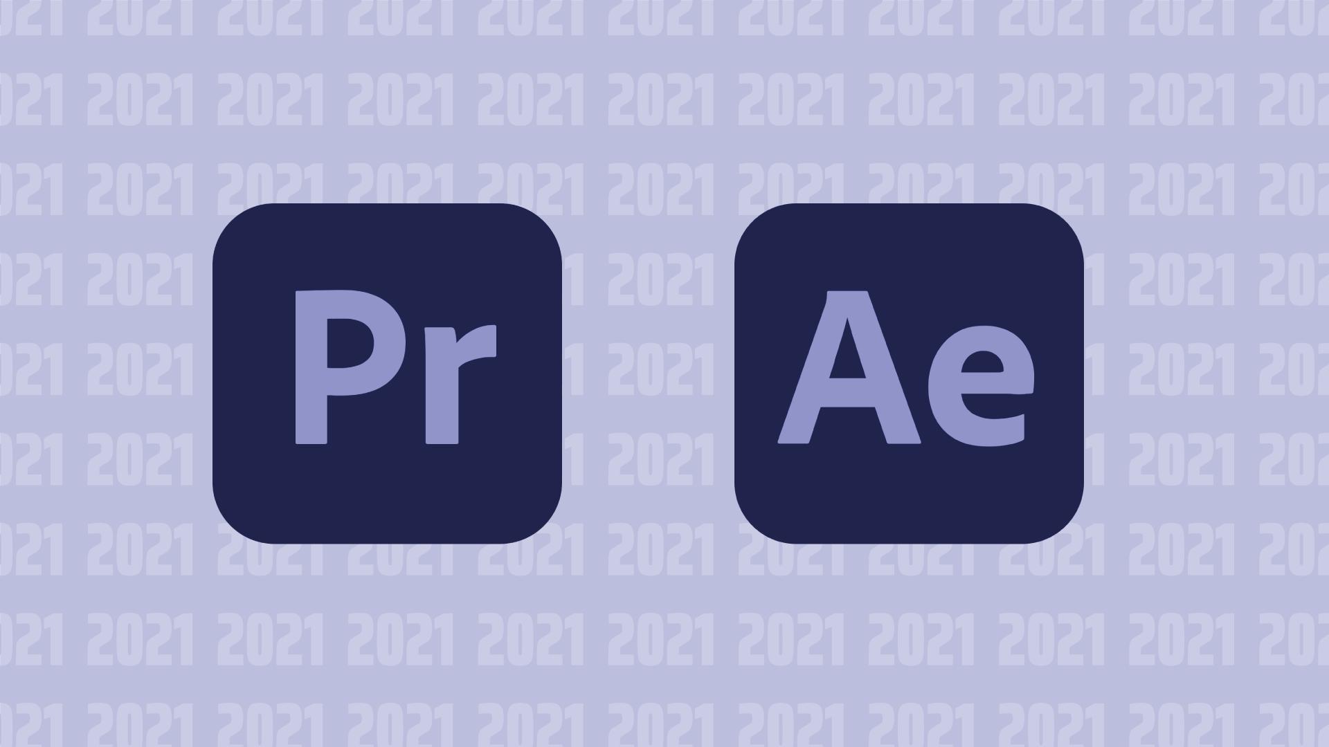 Blogtitelbild Adobe After Effects und Premier Pro 2021