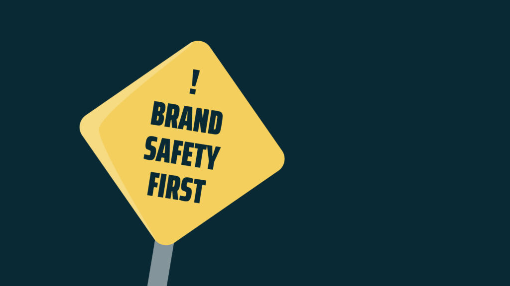 Blogtitelbild zm Thema Brand Safety