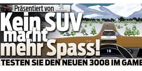 Native Advertising bezahlt Blick.ch